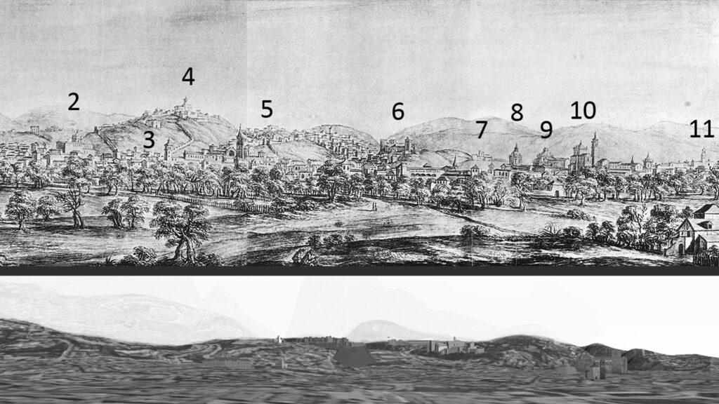 Análisis de paisaje urbano histórico mediante modelos de recreación virtual: el Panorama de Granada de Pier Maria Baldi en 1668