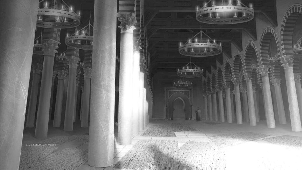 Propuesta de hipótesis visual para la reconstrucción de la Mezquita Aljama de Granada