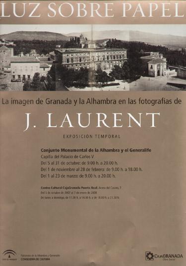 Luz sobre papel: la imagen de Granada y la Alhambra en las fotografías de J. Laurent