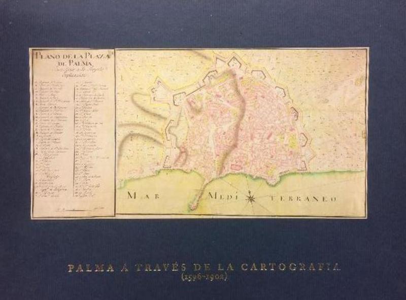 Palma a través de la cartografía