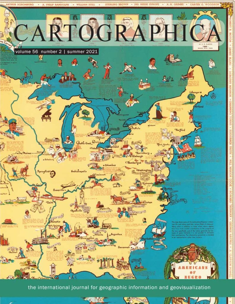 The power of disembodied imagination: perspective´s role in cartography