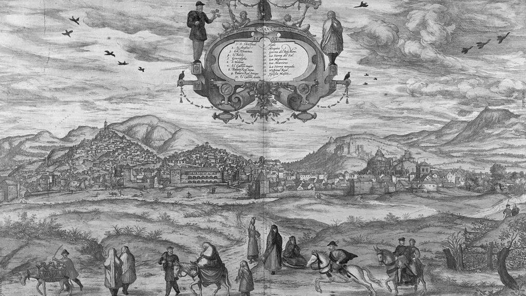 Viste prospettiche della città di Granada: la finzione d'Oriente in Europa