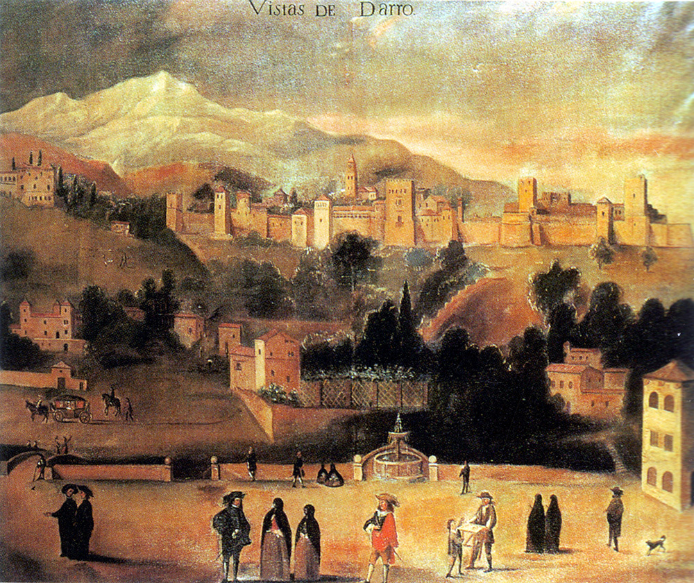 Juan de Sabis, Vistas del Darro, copia del original de 1636