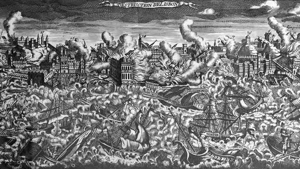 Organic versus Geometric: The Impact of the 1755 Lisbon Earthquake
